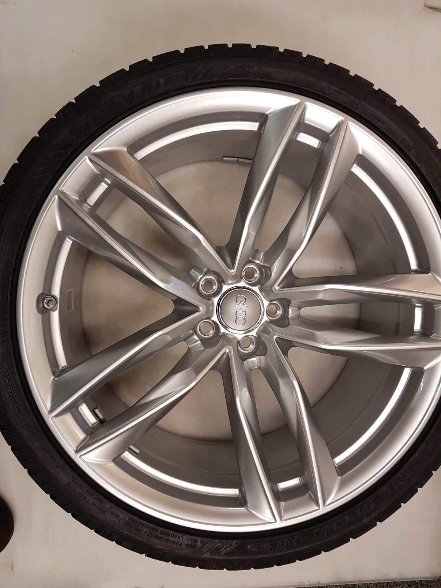 Originele Audi Rs6 21 Inch Velgen Dunlop 285 30 21 100w Sp Wintersport 4d Ro1 Winterbanden