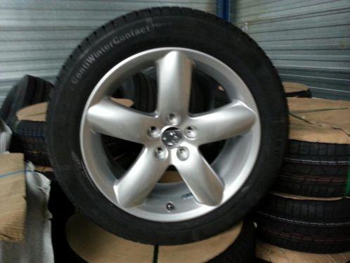 Velgen 17 Inch Origineel Peugeot 407 Maxxis 21555vr17 98v Mapw Xl Winterbanden