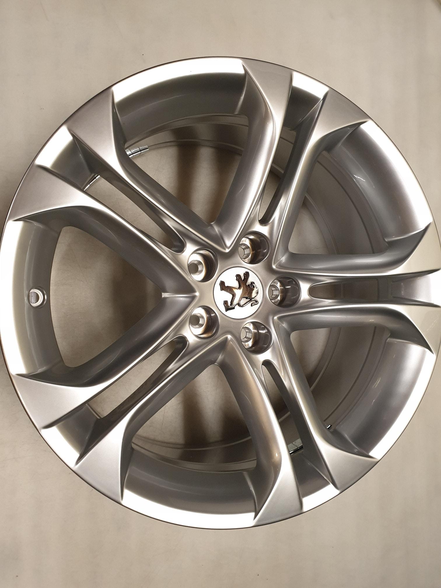 Originele Peugeot Rcz Lichtmetalen Velgen 18 Inch