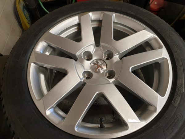 Originele Peugeot 508 Lichtmetalen Velgen 17 Inch